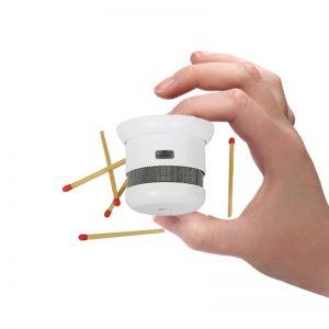 Autonomiczny miniaturowy czujnik dymu NUG35940 D4-S5