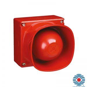 Adresowalny sygnalizator akustyczny w obudowie wodoszczelnej CAS381WP (MAS850LPS/WP) IP66