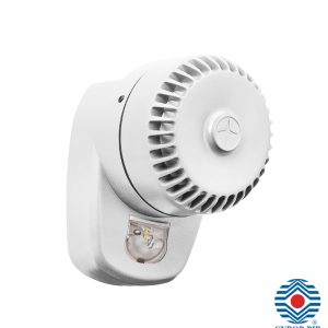 RoLP LX Ścienny ROLP/W1/LX-W/RF biały Konwencjonalny Sygnalizator optyczno-akustyczny
