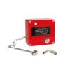 Skrzynka na klucz ewakuacyjny ze zbijakiem z wymiennymi szybkami z zamkiem kod:FULL-569
