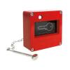 Skrzynka na klucz ewakuacyjny ze zbijakiem z wymiennymi szybkami kod:FULL-568