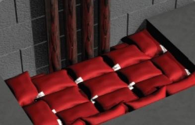 poduszki pęczniejące ogniochronne