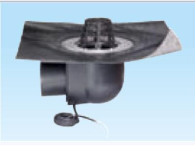 wpust dachowy ukośny dwuścienny z koszem przeciwżwirowyogrzewany